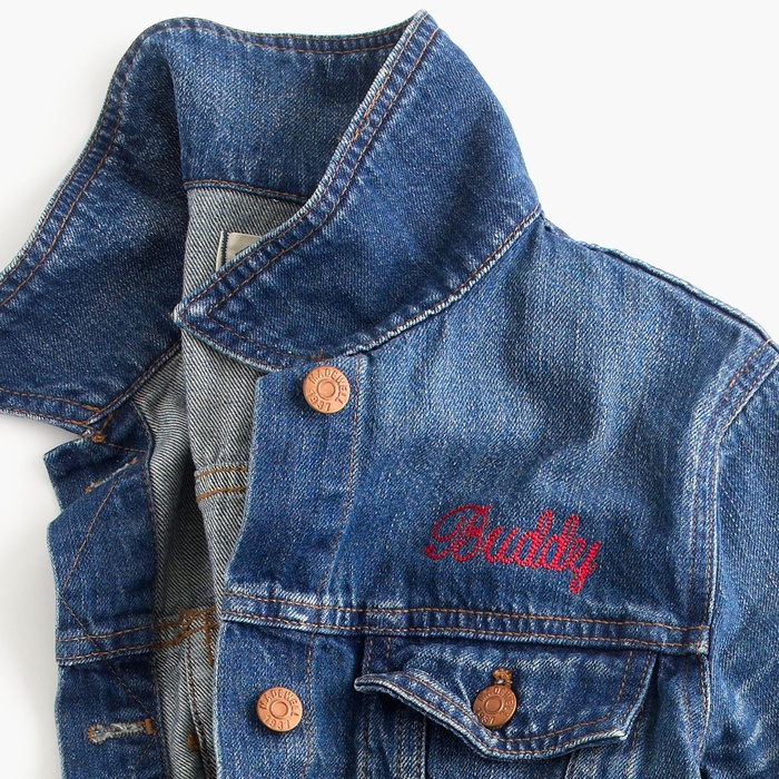 Best Personalized Gifts - Madewell the oversized jean jacket