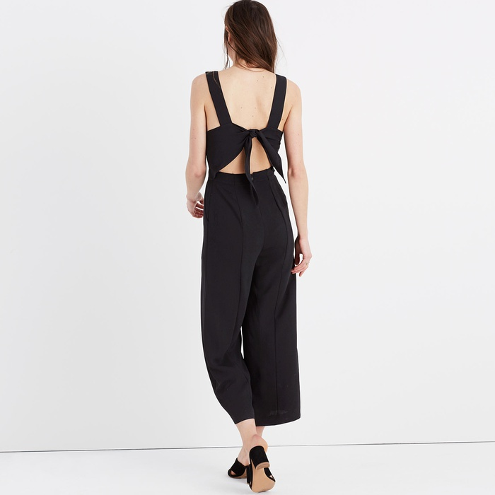 Best Jumpsuits - Madewell Apron Bow-back Jumpsuit
