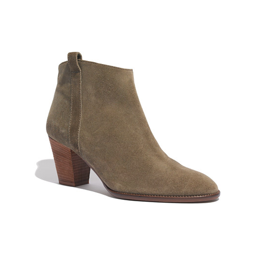 Best Brown Ankle Boots - Madewell Billie Boot