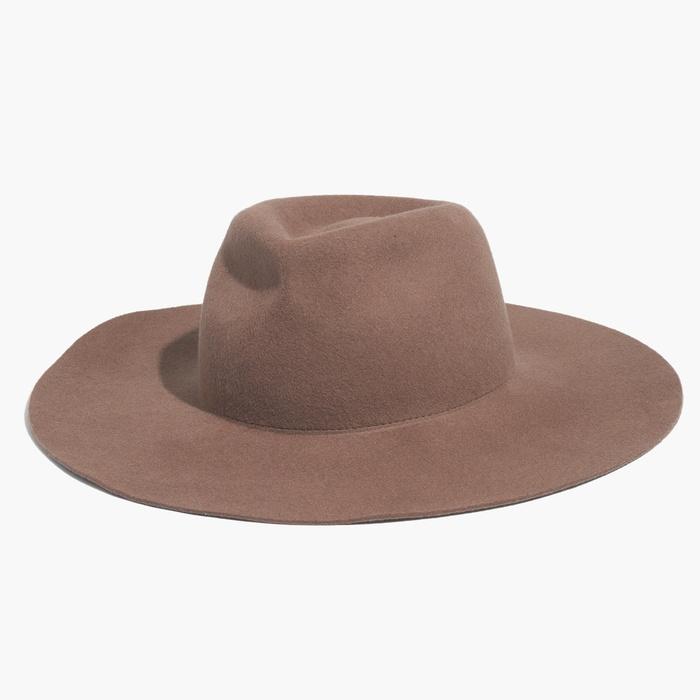 Best Seasonal Hats - Biltmore x Madewell Floppy Felt Fedora