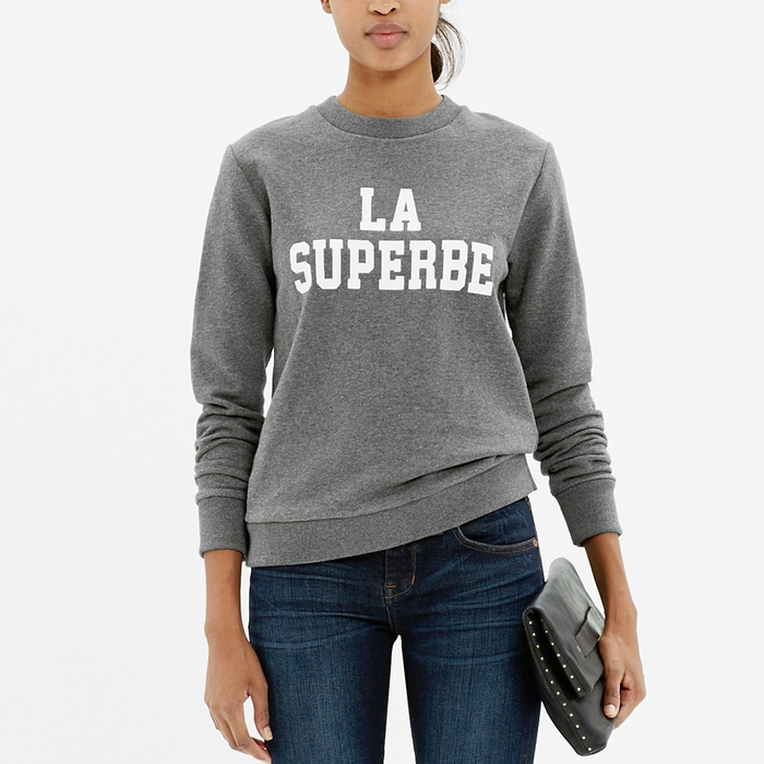 Best Loungewear for Fall - Madewell Et Sézane La Superbe Sweatshirt