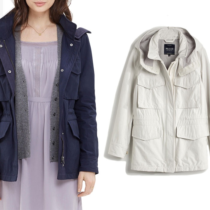Best Spring Anoraks - Madewell Fieldwalk Jacket