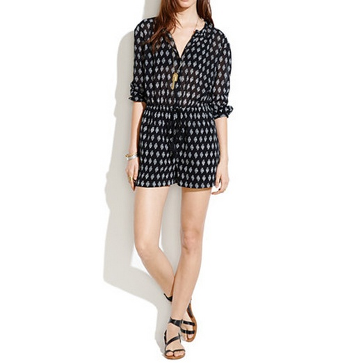 Best Rompers under $100 - Madewell Getaway Romper