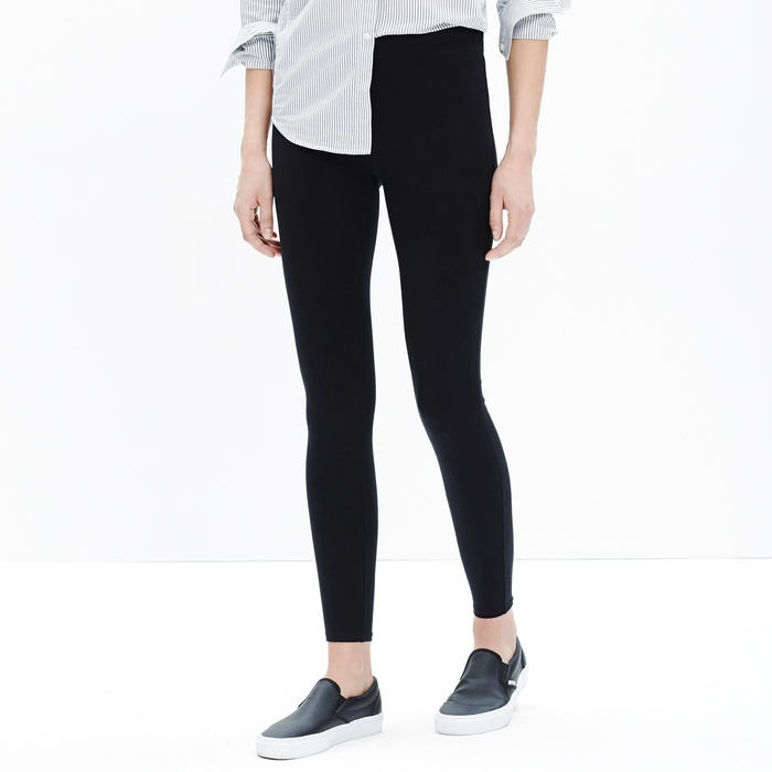 Best Black Leggings - Madewell Knit Leggings