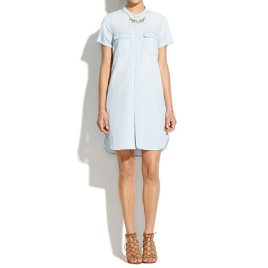 Best Shirt Dresses - Madewell Perfect Chambray Shirtdress