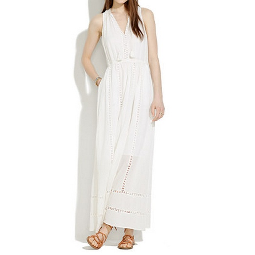 Best Summer White Bests - Madewell Piazza Maxidress