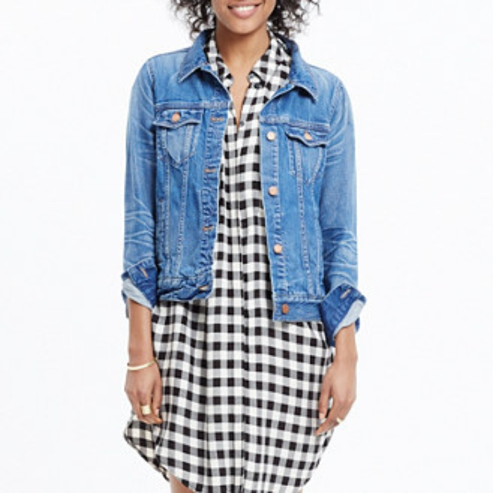 Best Denim Jackets for Cool Summer Nights - Madewell the Jean Jacket in Pinter Wash