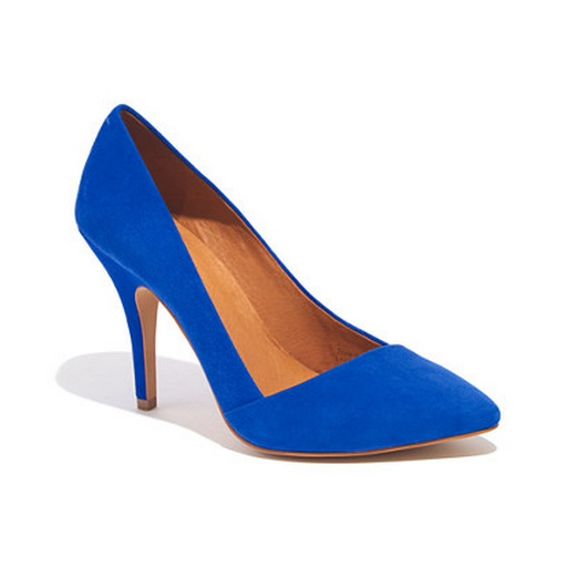 Best Blue Hued Bests - Madewell The Mira Heel
