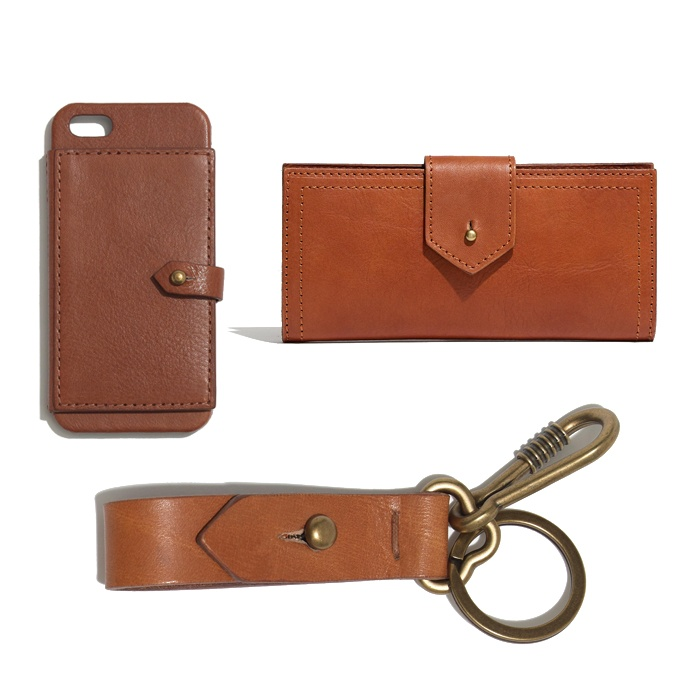 Best For the Preppy Girl - Madewell The Post Wallet, Key Fob, and Wallet iPhone Case