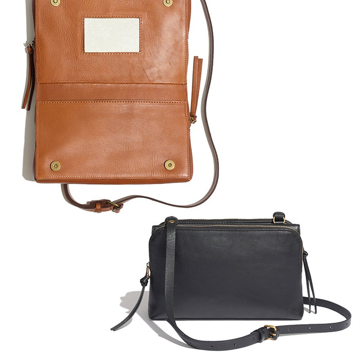 Best Mini Cross Body Bags Under $250 - Madewell The Twin-Pouch Crossbody