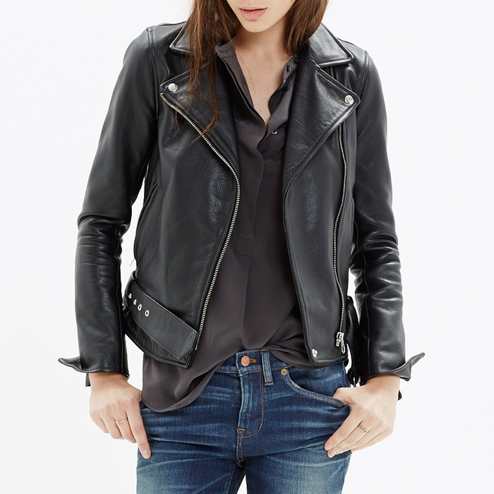 Best Moto Jackets - Madewell Ultimate Leather Motorcycle Jacket