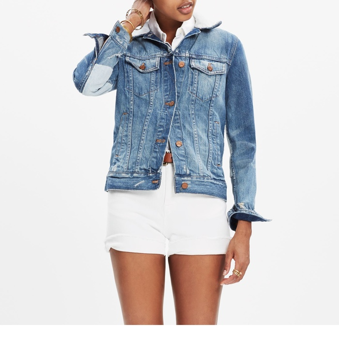 Best Denim Jackets for Cool Summer Nights - Madewell x B Sides™ Reworked Jean Jacket