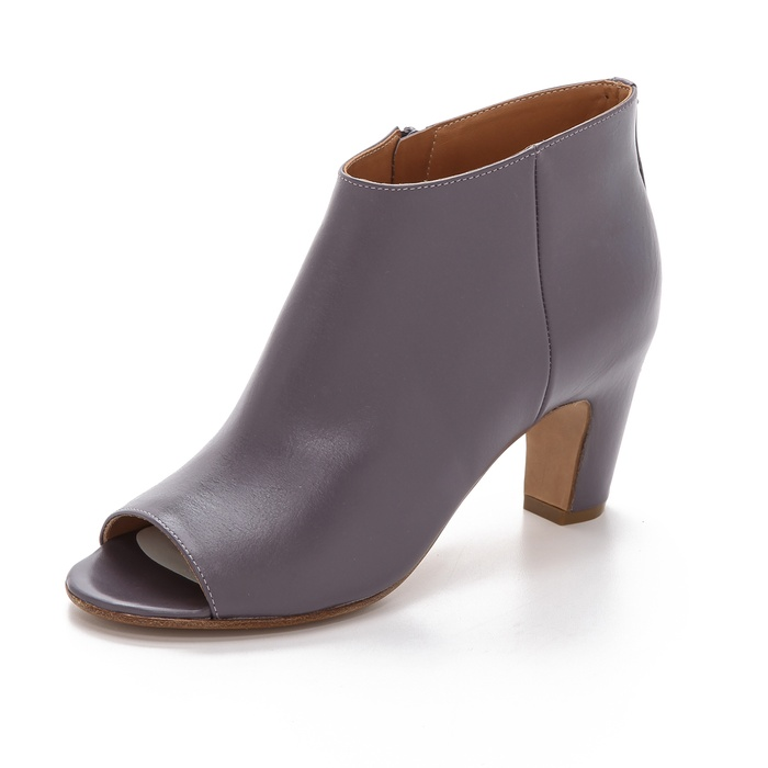 Best Peep Toe Booties - Maison Martin Margiela Short Peep Toe Ankle Boot