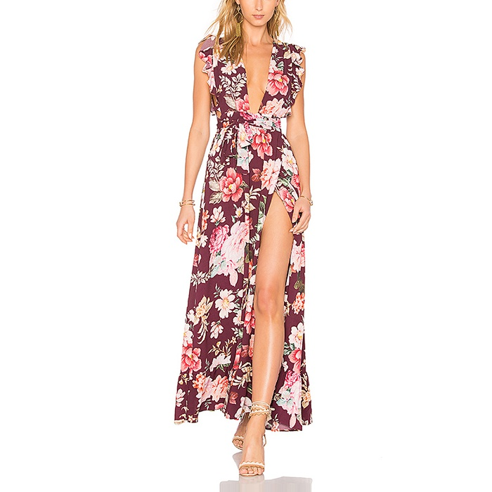 Best Floral Maxi Dresses - Majorelle Sweet Pea Dress
