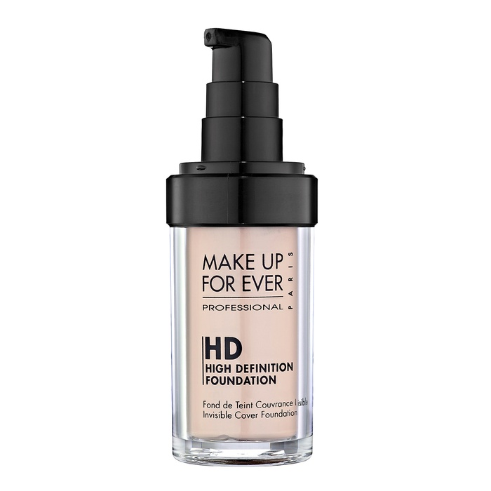 Best Oil-Free Foundations For Summer - Make Up For Ever HD Invisible Cover Foundation