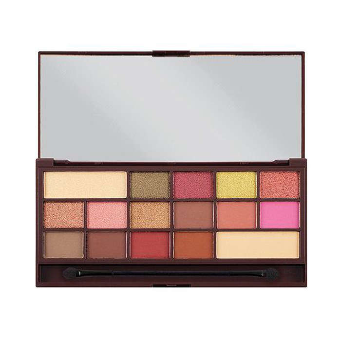 Best Rose Gold Eyeshadow Palettes - Makeup Revolution Rose Gold Chocolate Bar Eyeshadow Palette
