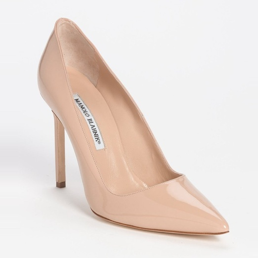 Best Comfortable Summer Heels - Manolo Blahnik BB Pointy Toe Pump