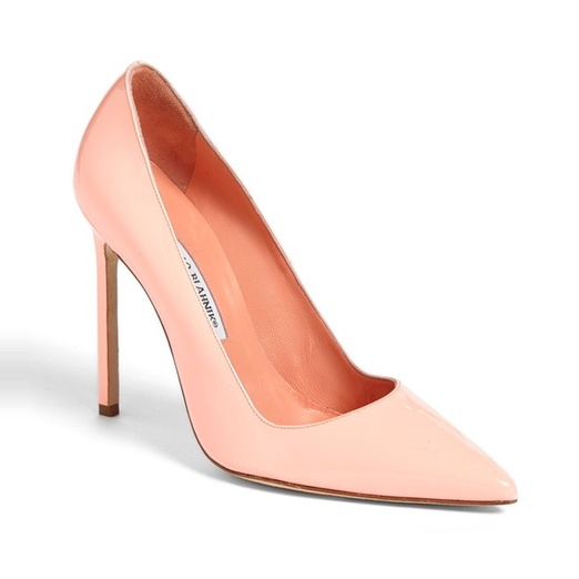 Best Pastel Shoes - Manolo Blahnik BB Pointy Toe Pump