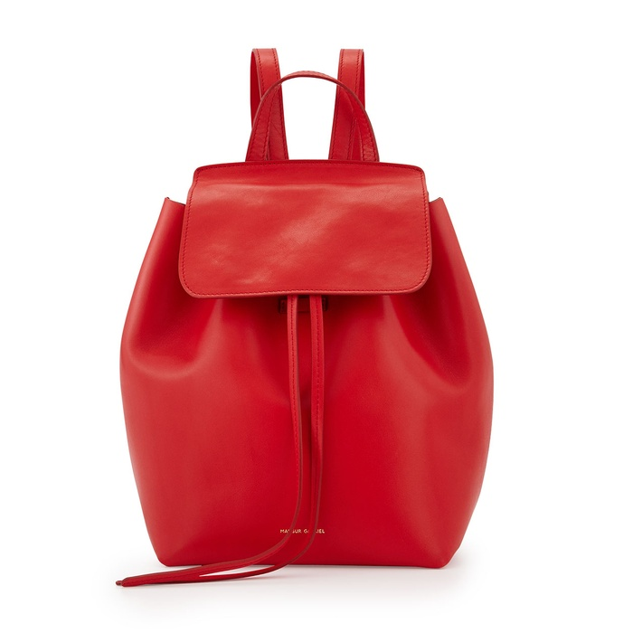 Best Trending Backpacks - Mansur Gavriel Mini Structured Leather Backpack
