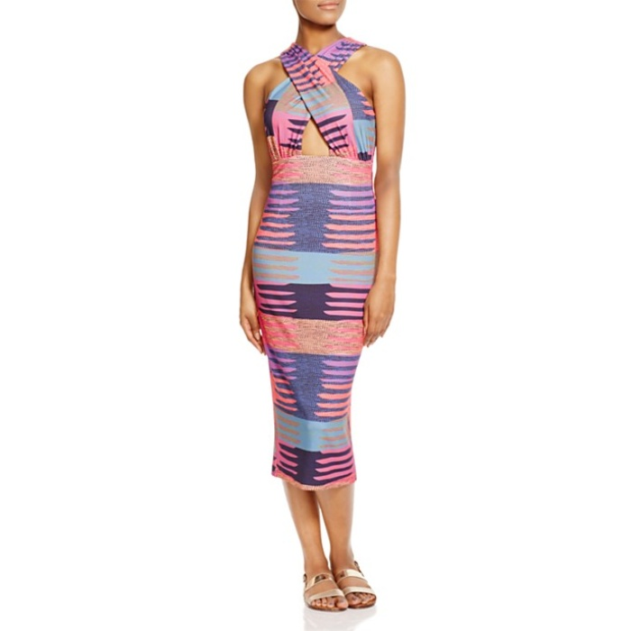 Best Cut Out Dresses Under $300 - Mara Hoffman Miali Cutout Printed Dress