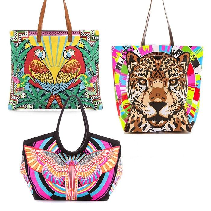 Mara Hoffman Printed Bags