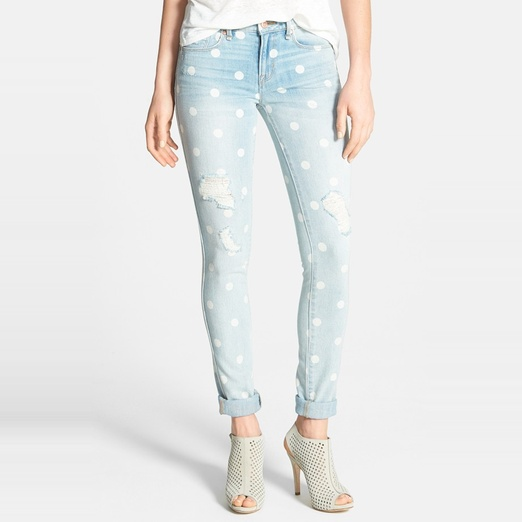 Best Distressed Jeans For Spring - Marc by Marc Jacobs Destroyed Slim Leg Cuff Jeans
