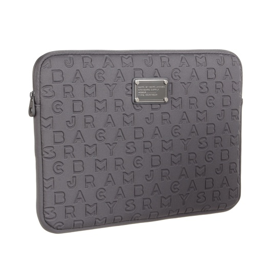 Best Laptop Cases - Marc by Marc Jacobs Dreamy Logo Neoprene Computer Case