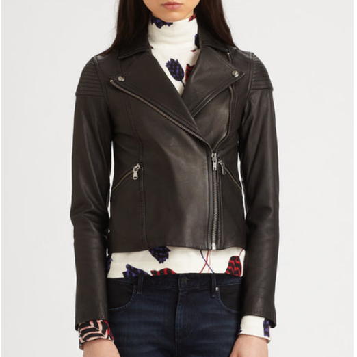 Best Moto Jackets - Marc by Marc Jacobs Sergeant Leather Biker Jacket