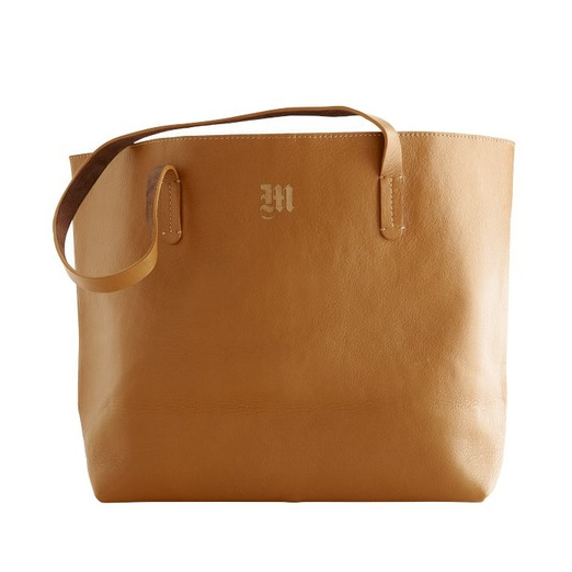 Best Tan Leather Totes - Mark and Graham Everyday Leather Tote