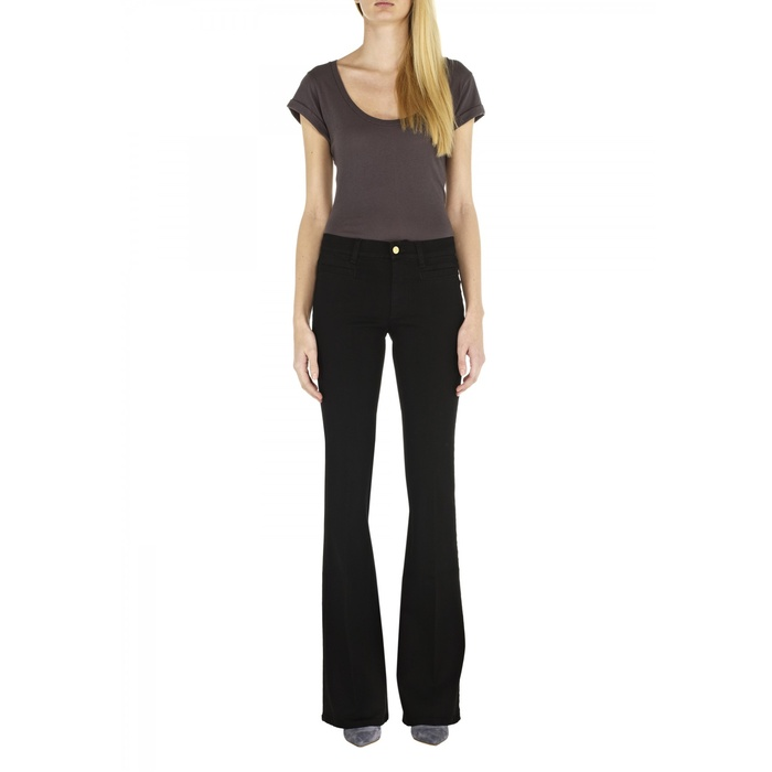 Best Winter Jeans - MiH Marrakesh Kick Flare Jeans