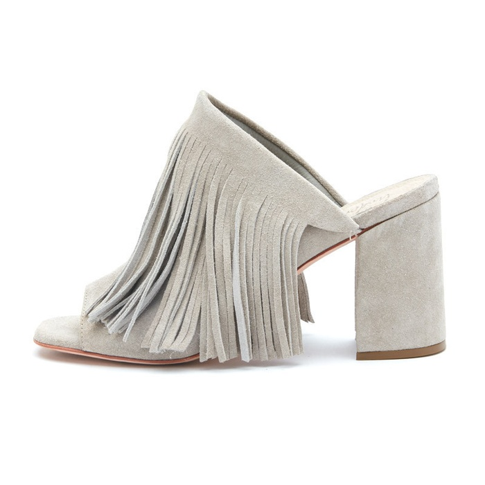 Best Mules for Summer - Matisse Footwear Understated Leather x Matisse Fringed Mule