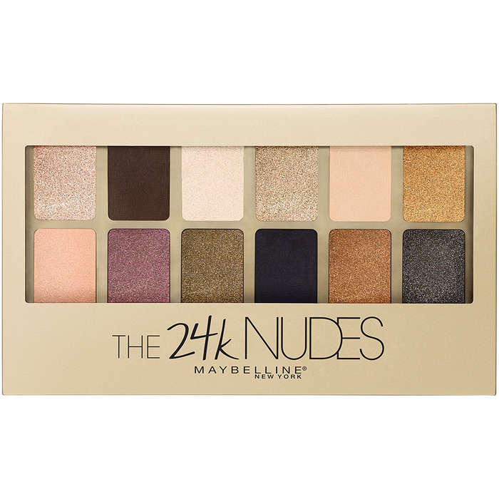 Best Nude Eyeshow Palettes - Maybelline The 24K Nudes Eyeshadow Palette