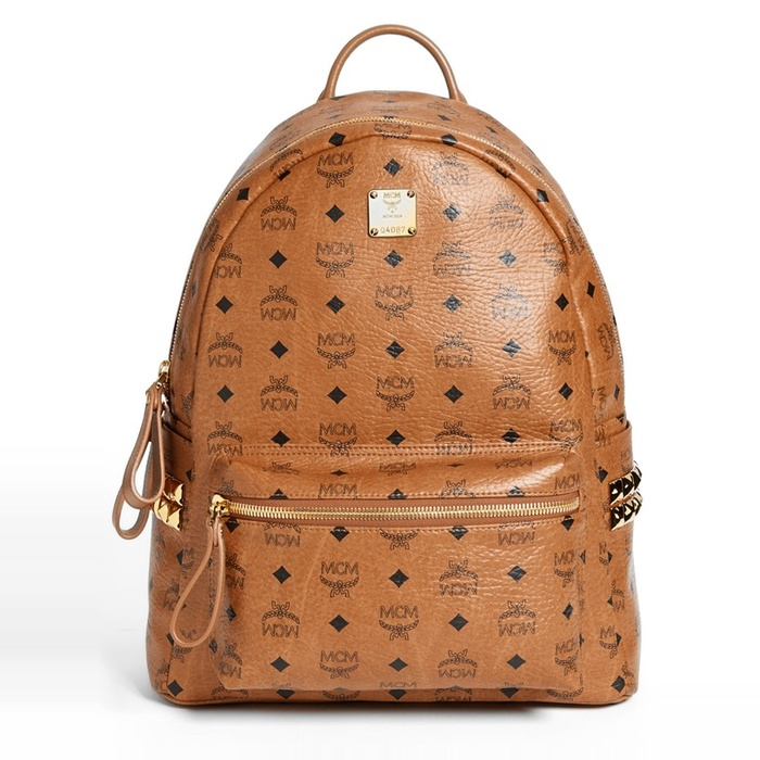 MCM Medium Stark With Side Studs Backpack | Rank & Style