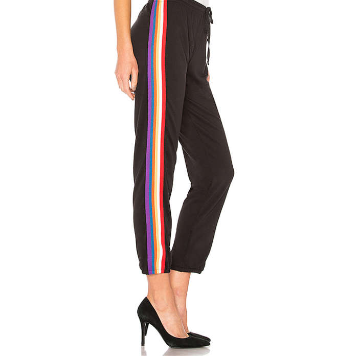 Best Rainbow Fashion Pieces - Michael Lauren Val Track Pant