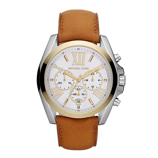 Best Trendy Watches - MICHAEL Michael Kors 'Bradshaw' Leather Strap Watch