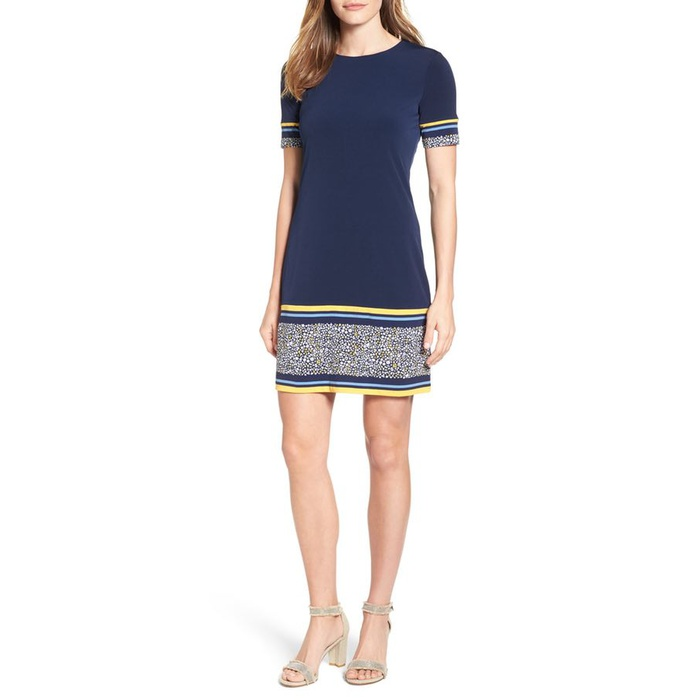 Best Spring Wear to Work Dresses - MICHAEL Michael Kors Celia Border Print Shift Dress
