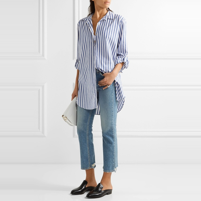 Best Boyfriend Button-Down Shirts - MiH Jeans Oversize Shirt