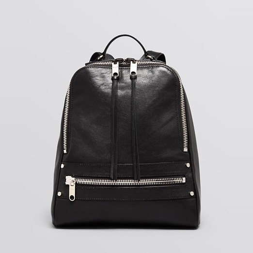Best Fall Handbags Under $500 - Milly Backpack - Riley Leather Zip