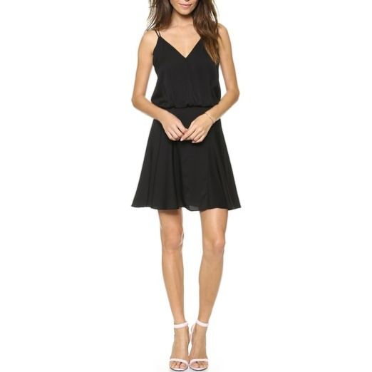 Best Spring LBDs - Milly Blouson Tank Dress