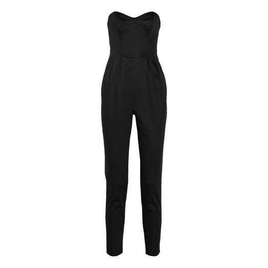 Best Black Sleeveless Jumpsuits - Milly Strapless Jumpsuit