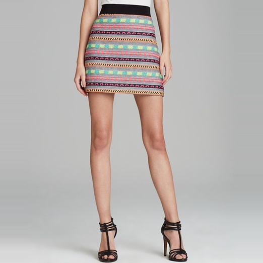 Best Ten Tribal Themed Bests - Milly Tribal Tweet Skirt