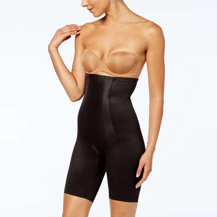 e25c94b3b Miraclesuit Extra Firm Control Shape with an Edge High Waist Thigh Slimmer