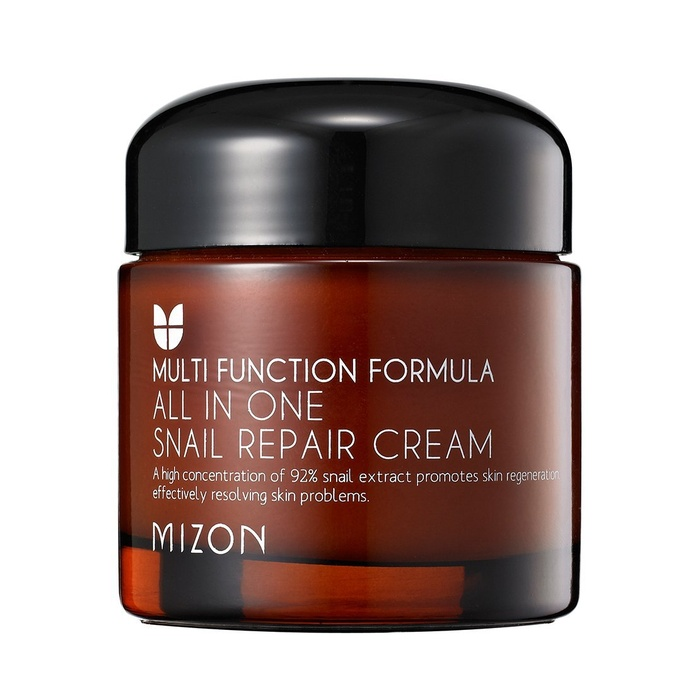 Best Korean Beauty Products - Mizon All In One Snail Repair Cream