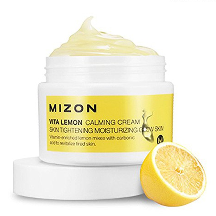 Best Indie Beauty Brands - Mizon Vita Lemon Calming Cream
