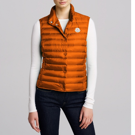 Best Puffer Vests - Moncler Quilted Nylon Vest