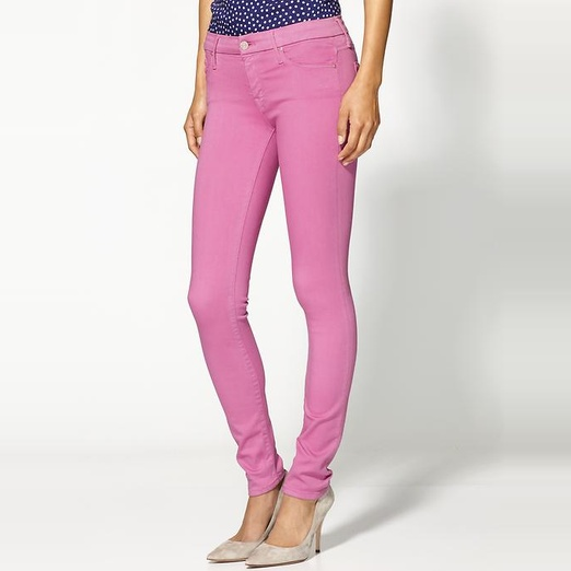 Best Bright Denim - Mother The Looker Skinny