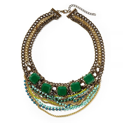 Best Statement Necklaces - Pim + Larkin Multi Chain Statement Necklace by Pim + Larkin