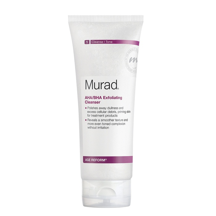 Best Daily Exfoliating Cleansers - Murad AHA/BHA Exfoliating Cleanser