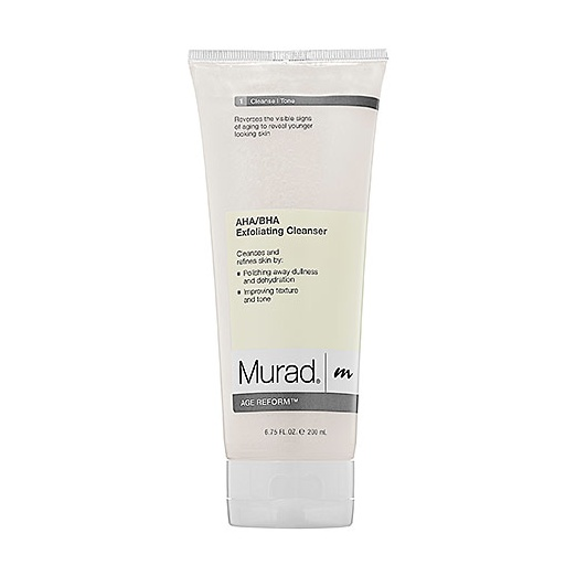 Best Facial Exfoliators - Murad AHA/BHA Exfoliating Cleanser