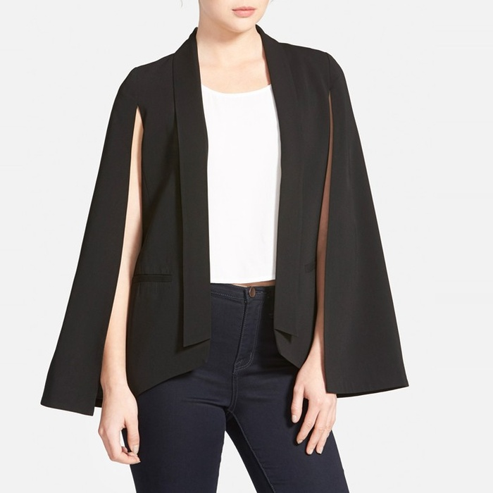 Best Cape Coats and Blazers - Mural Cape Blazer